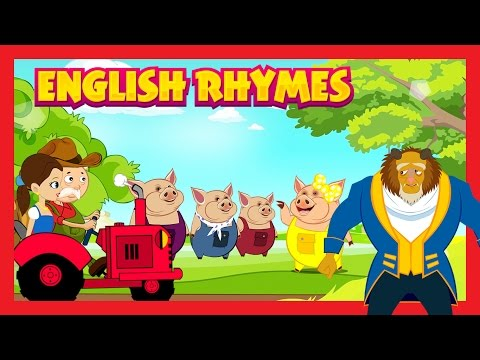 English Rhymes - Animated English Poems For Kids || Rhymes For Children