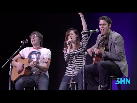"Darren Criss, Lena Hall & Stephen Trask: ""Sugar Daddy"" & ""Midnight Radio"" from Hedwig"