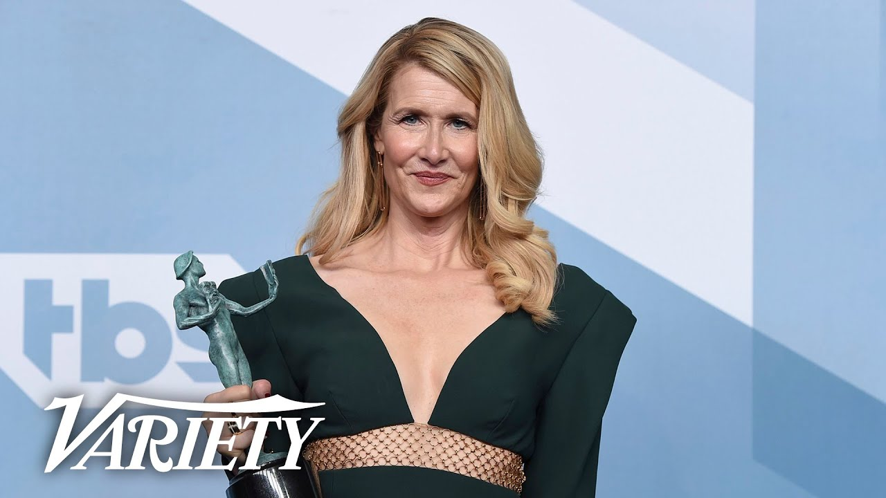 Laura Dern Wins SAG Award for 'Marriage Story' - Full Backstage Interview