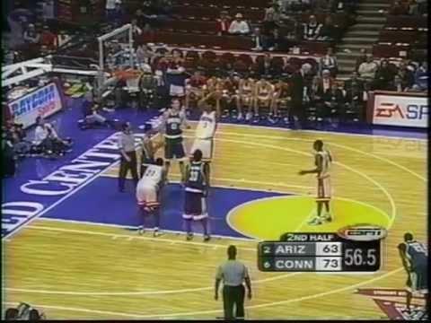 12/07/1999 Great Eight:  #2 Arizona Wildcats vs.  #6 Connecticut Huskies