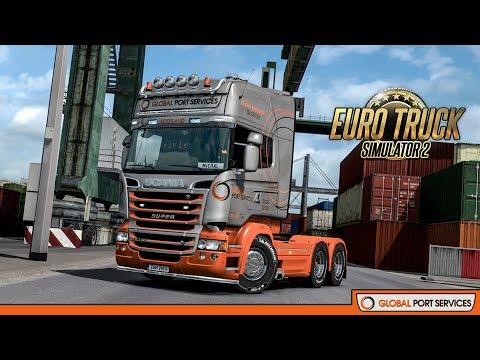 Ets2 Global Port Services skin