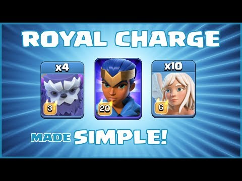 *IMMORTAL* NEW TH13 Attack Strategy - ROYAL CHARGE (10 X HEALERS!) - Clash Of Clans