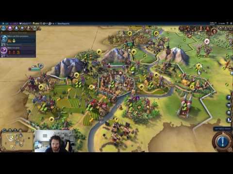 Civilization VI - Greece 02: Live Stream