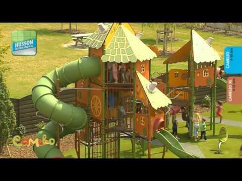 Детские игровые и спортивные площадки класса премиум  HUSSON (Франция) www.husson.ru