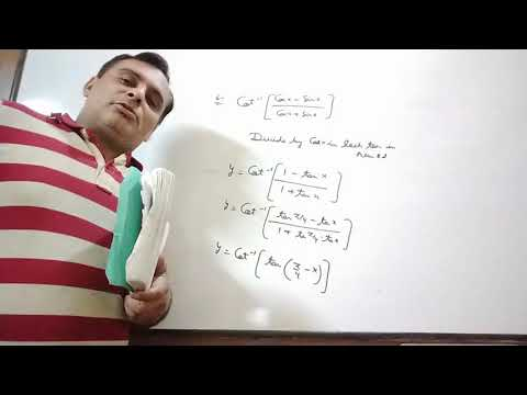 6 Differentiation Of Class XII By Ravi Taneja Of Ex 10D.1