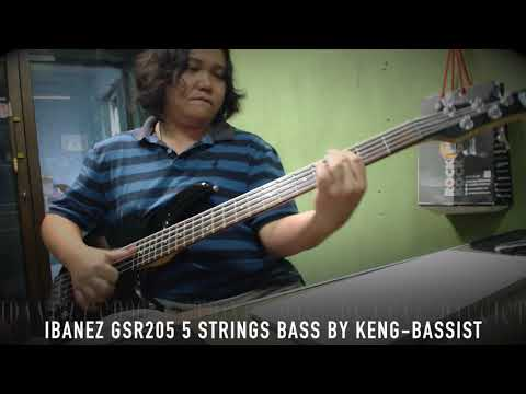 Ibanez GSR205 5 Strings Bass by Keng Bassist