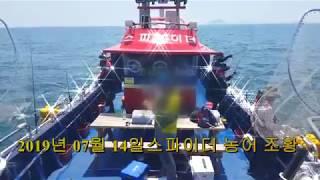 7월 14일 (3물) [대천항 낚시쿤-스파이더호] 농어…