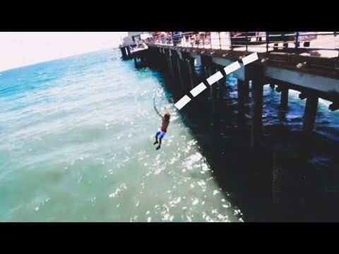 Jumping off Santa Monica Pier!