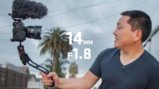Vlogging on the New Sony 14mm f1.8 GM
