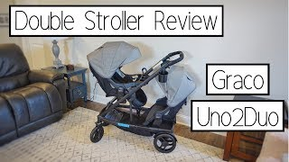 GRACO UNO2DUO REVIEW | DOUBLE STROLLER REVIEW