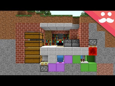 How to make a MICRO BUNKER in Minecraft!
