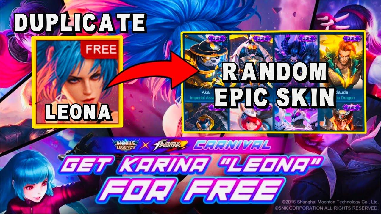 NEW UPCOMING KOF STRIKE / BINGO EVENT | FREE KOF SKIN OR EPIC SKIN - Mobile Legends Bang Bang
