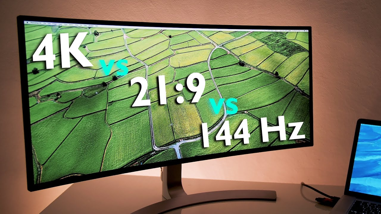 Ultrawide 21:9 vs UHD 4K vs Gaming 144 Hz     Which is best?