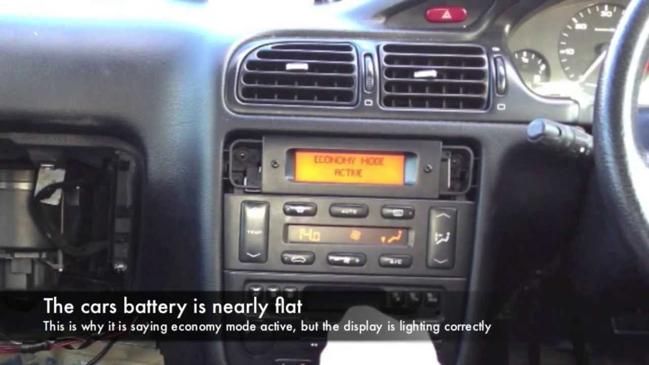 Peugeot 406 Mfd Bulb Replacement Youtube