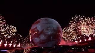 Салют на открытии EXPO 2017