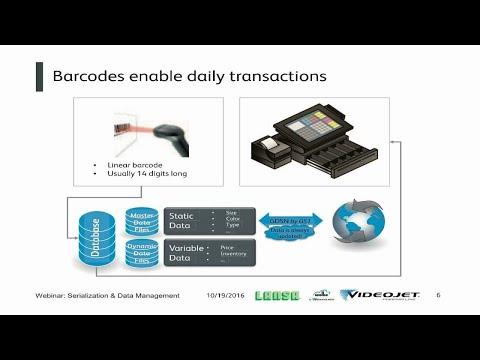Webinar Videojet Pharma Line: Serialization & Data Management Part 1