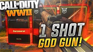 "1 SHOT = 1 KILL (Guaranteed)! - FULL AUTO ""Gewehr 43"" Most OVERPOWERED DLC WEAPON! (COD WW2)"