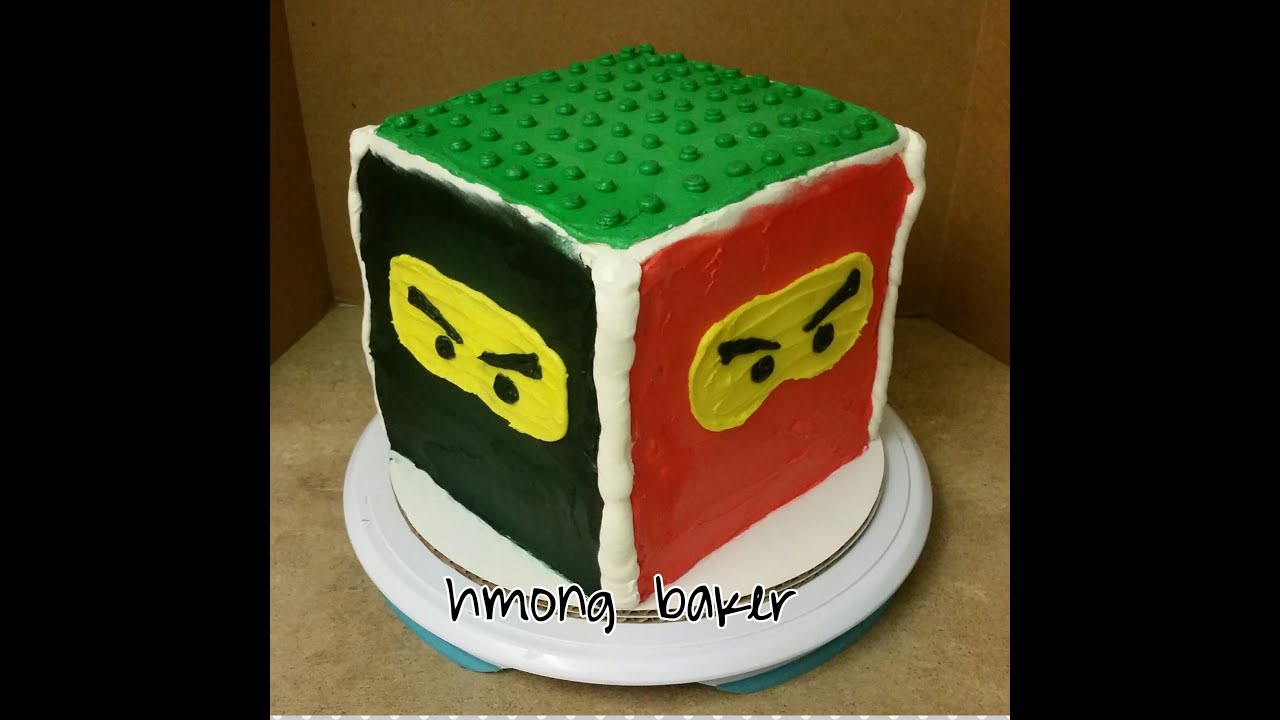 Ninjago Lego Cake Cake Decorating
