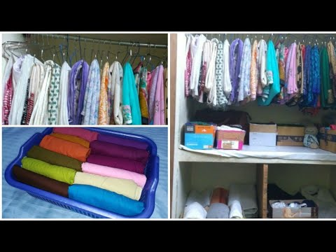 How To Organize Clothes In Very Small Space Very Useful Tips For