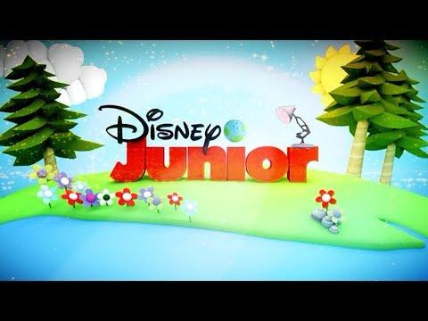 846-Disney Junior With Summer Garden Spoof Pixar Lamp Luxo Jr Logo