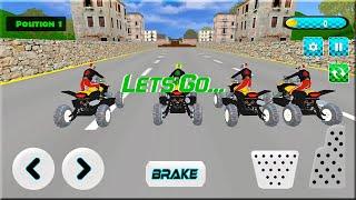 Bike Racing Games - Pro ATV Bike Stunts Games Android Gameplay screenshot 3