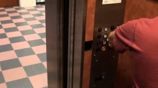 Montgomery? Hydraulic elevator @ UT Dallas Library Dallas TX w Gluse