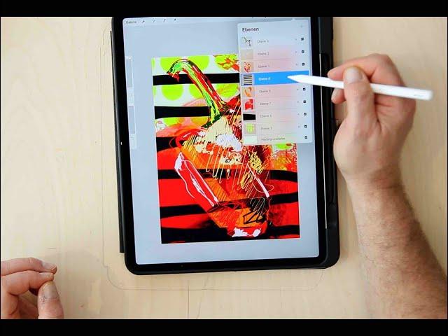 Folge 3 - Freie Zeichnung und Gitternetz mit Procreate