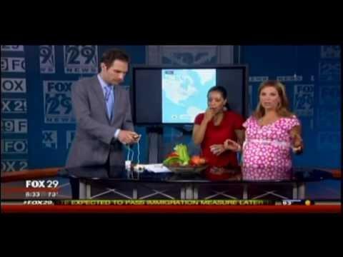 Mike Hoaglin with Organic Food Detector on FOX 29's Good Day Philadelphia