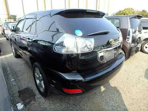 Used Toyota Harrier Cars For Sale SBT Japan