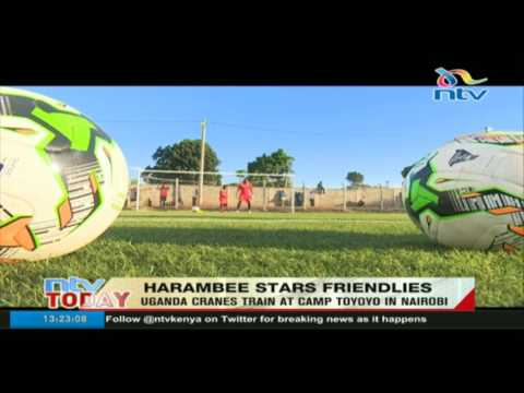 Harambee Stars intensify training as DRC jet in