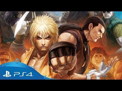 Art Of Fighting Anthology Trailer Ps4 Youtube