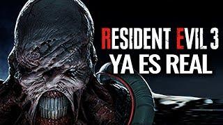 ¡YA ES REAL RESIDENT EVIL 3 NEMESIS REMAKE! FILTRADO