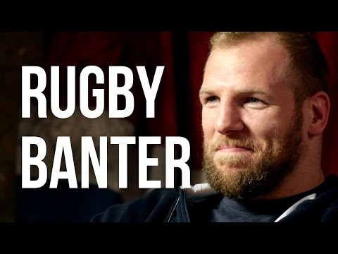 RUGBY BANTER - James Haskell  - The Bantersaurus Rex of England Rugby