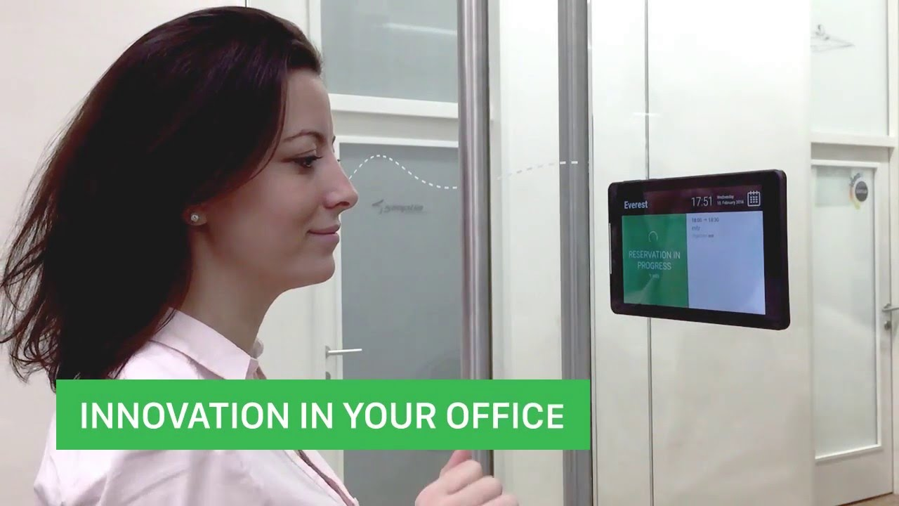 Book Your Meeting in a second - Meeting Room Booking System - YouTube