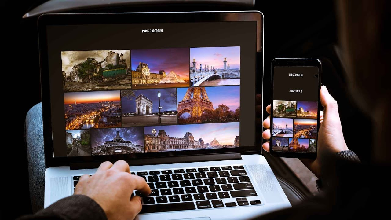 How to create a free website with Lightroom CC or Classic and Adobe Portfolio New Update