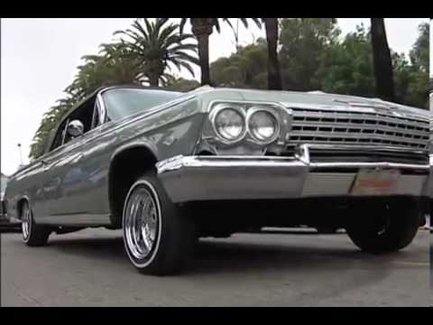 Lowriders at Elysian Park in L A
