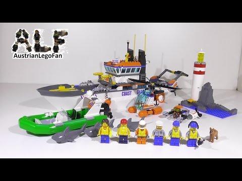 lego-city-60014-coast-guard-patrol-/-einsatz-für-die-küstenwache---lego-speed-build-review