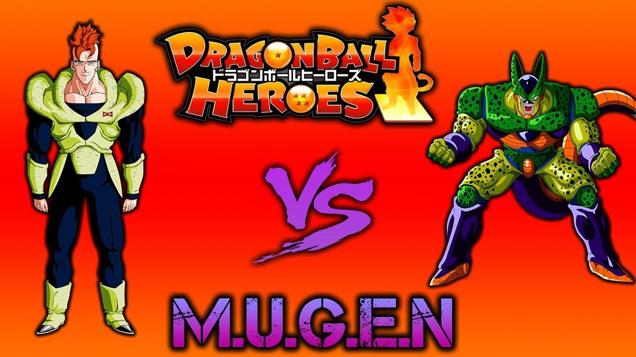 DragonBall Heroes MUGEN Andriod 16 vs Cell Second Form