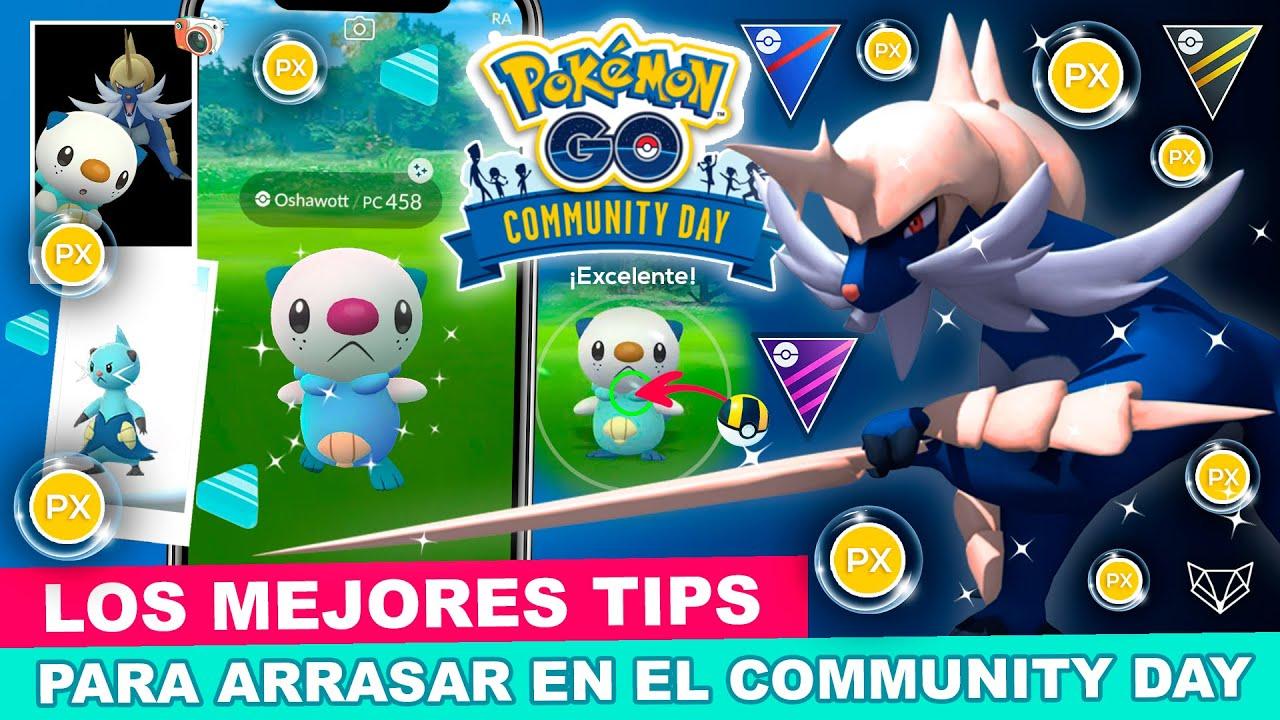 Download 💧 ARRASA EN EL COMMUNITY DAY DE OSHAWOTT CON ESTOS TIPS - Pokémon GO [Neludia]