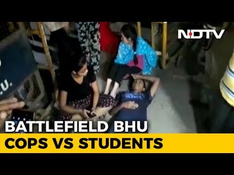 After Police Beat Girls At BHU, Probe Ordered, Colleges Closed