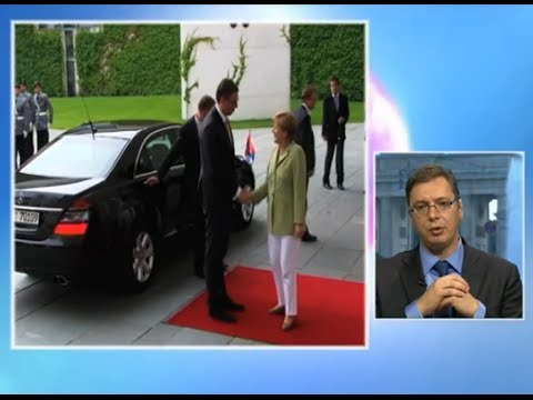 Aleksandar Vučić o razgovoru sa Angelom Merkel