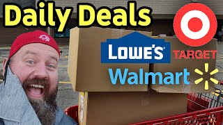 NEW In Store Daily Deals & Hidden Clearance At Walmart Target Lowe's