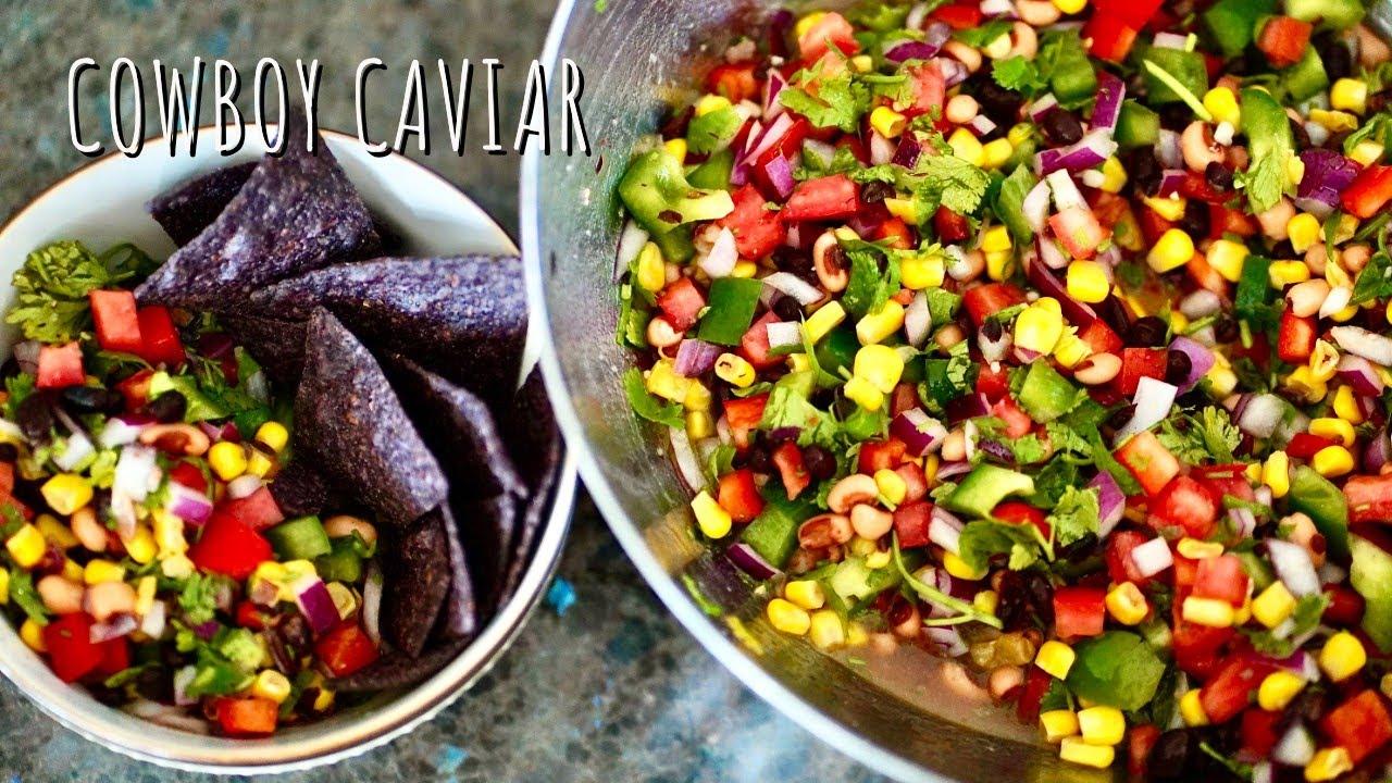 Cowboy Caviar (Veggie + Bean Salad, Vegan)