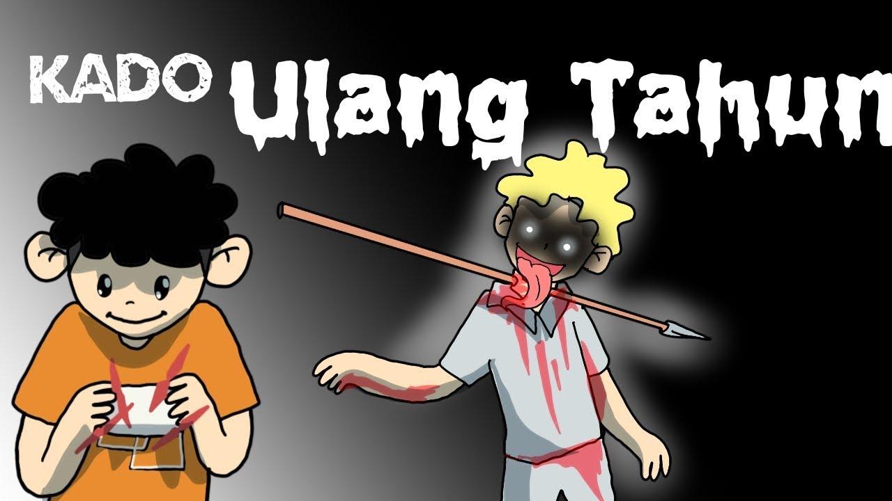 Kartun Lucu Kado Ulang Tahun Kartun Horor Wowo Dan Teman Teman