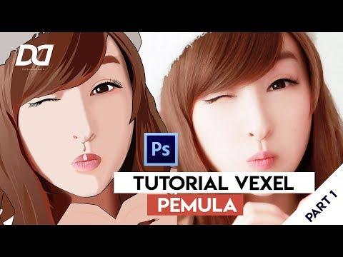 TUTORIAL VEXEL PEMULA PART 1 || Adobe Photoshop thumbnail