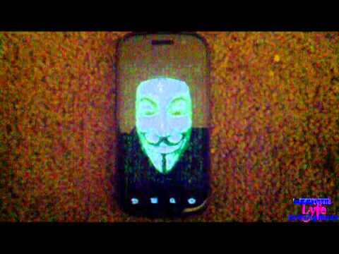 Anonymous Android boot animation (Download link)
