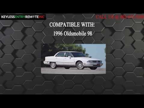 How To Replace Oldsmobile 98 Key Fob Battery 1996
