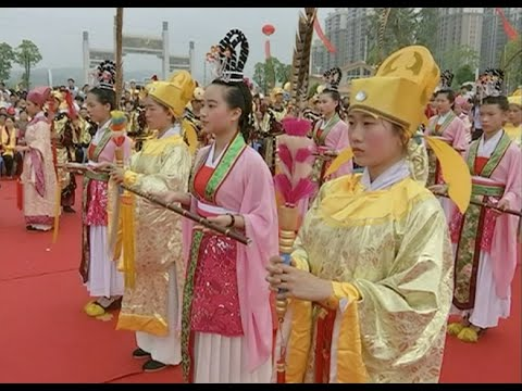 South China City Celebrates Mazu Festival