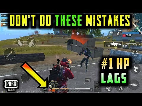 DON'T MAKE THESE MISTAKES IN PUBG MOBILE | BTX CLAN GAMEPLAY