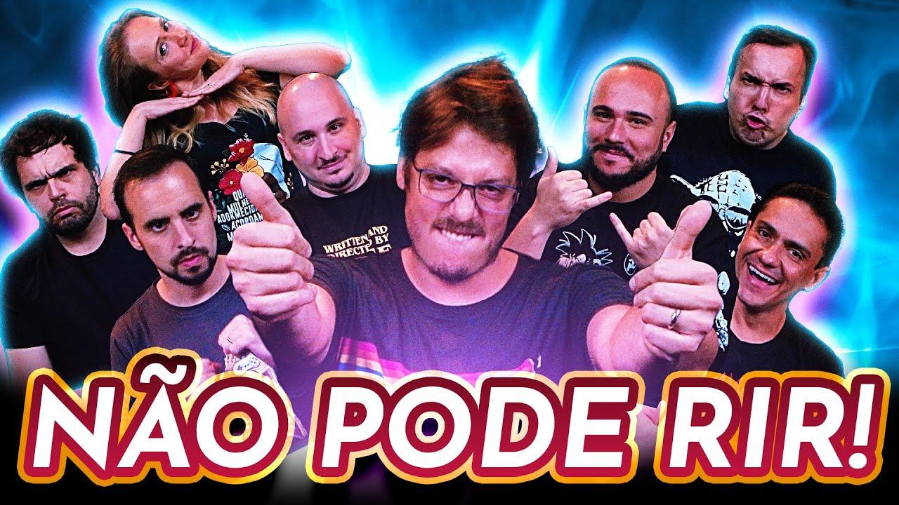NÃO PODE RIR! - TODOS contra FÁBIO PORCHAT!